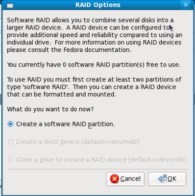 14 create raid partition